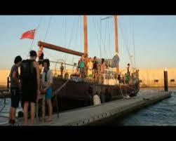 """""""Burdel poético"""" en el mar"""