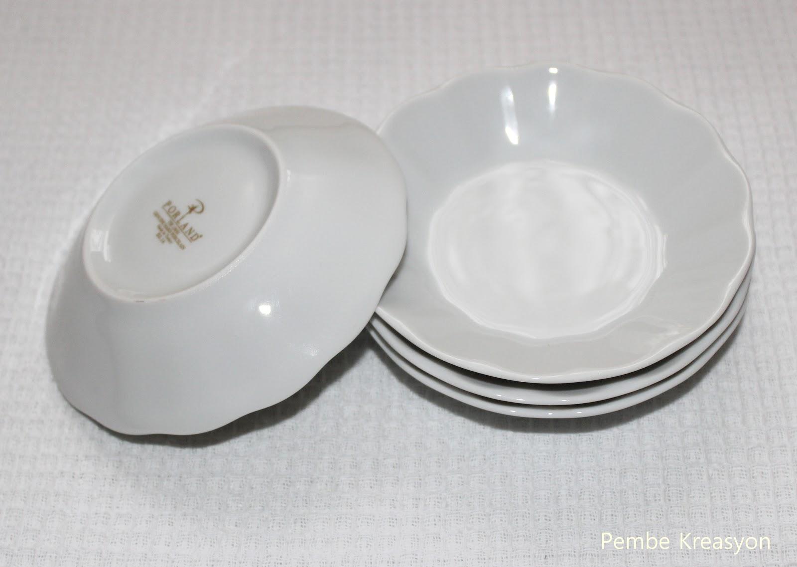porland çay tabakları