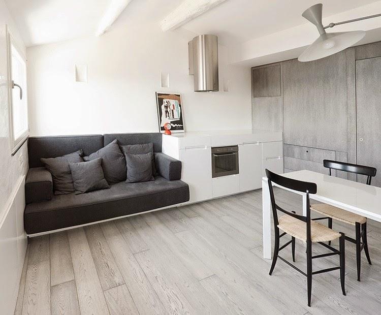 Cinco peque os apartamentos de dise o blog arquitectura y dise o - Apartamentos pequenos disenos ...