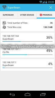 SuperBeam PRO WiFi Direct Share Free Apps 4 Android