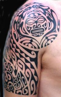Imagens de tatuagens tribais no brao