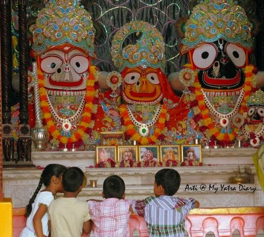 Sri Jagannatha Baladeva Subhadra, ISKCON Temple, Hyderabad Abids, Andra Pradesh