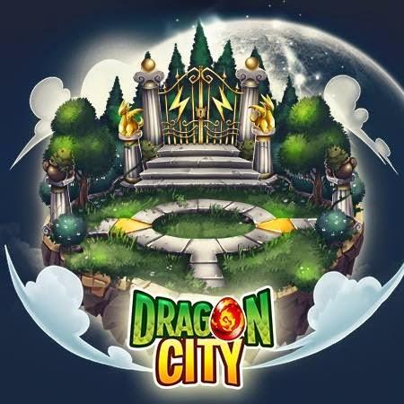 imagen de la actualizacion de la isla magica de deus de dragon city