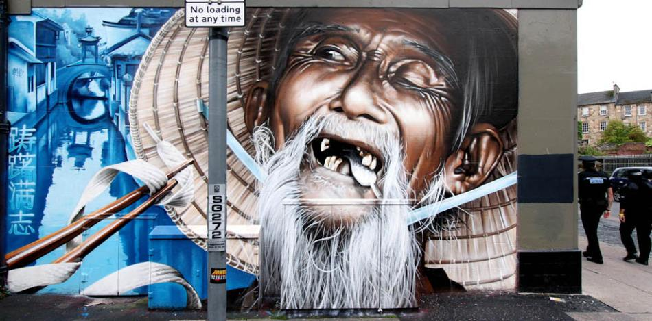 Solid Planet: Graffiti Street Art by Smug One