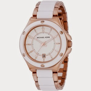 michael kors watches rose gold and white fashions feel