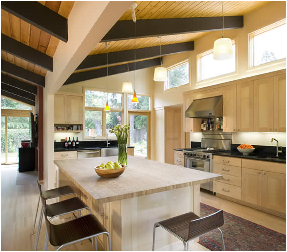 mid century modern kitchen design ideas