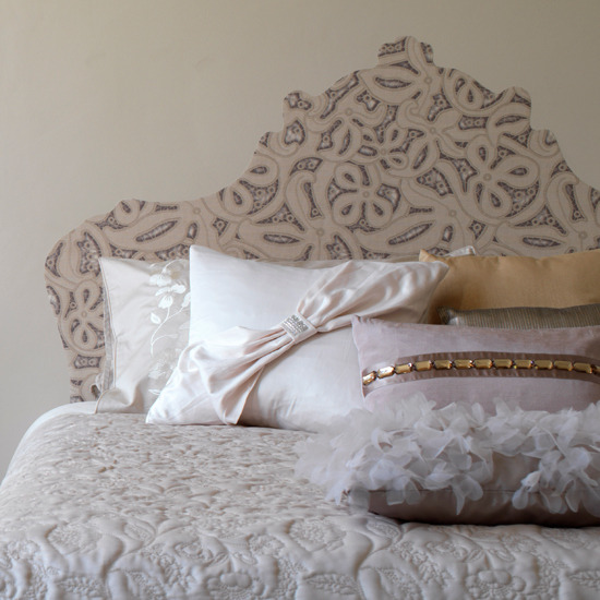 Design Your Own Headboard : Girly Notes: how to create a vintage bedroom in 5 steps