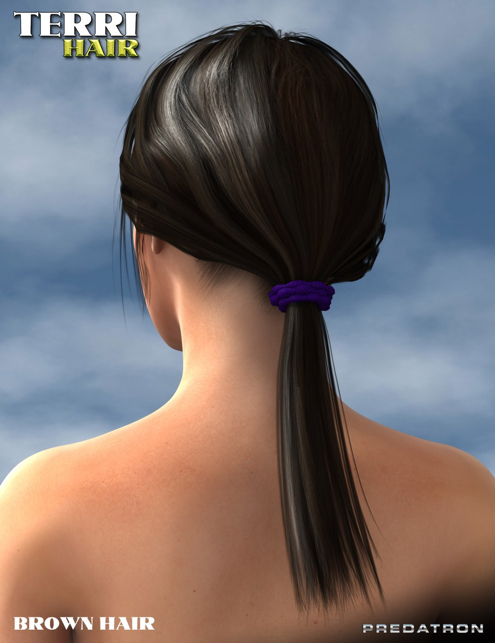 3d Models - Tourist Props and Terri Hair