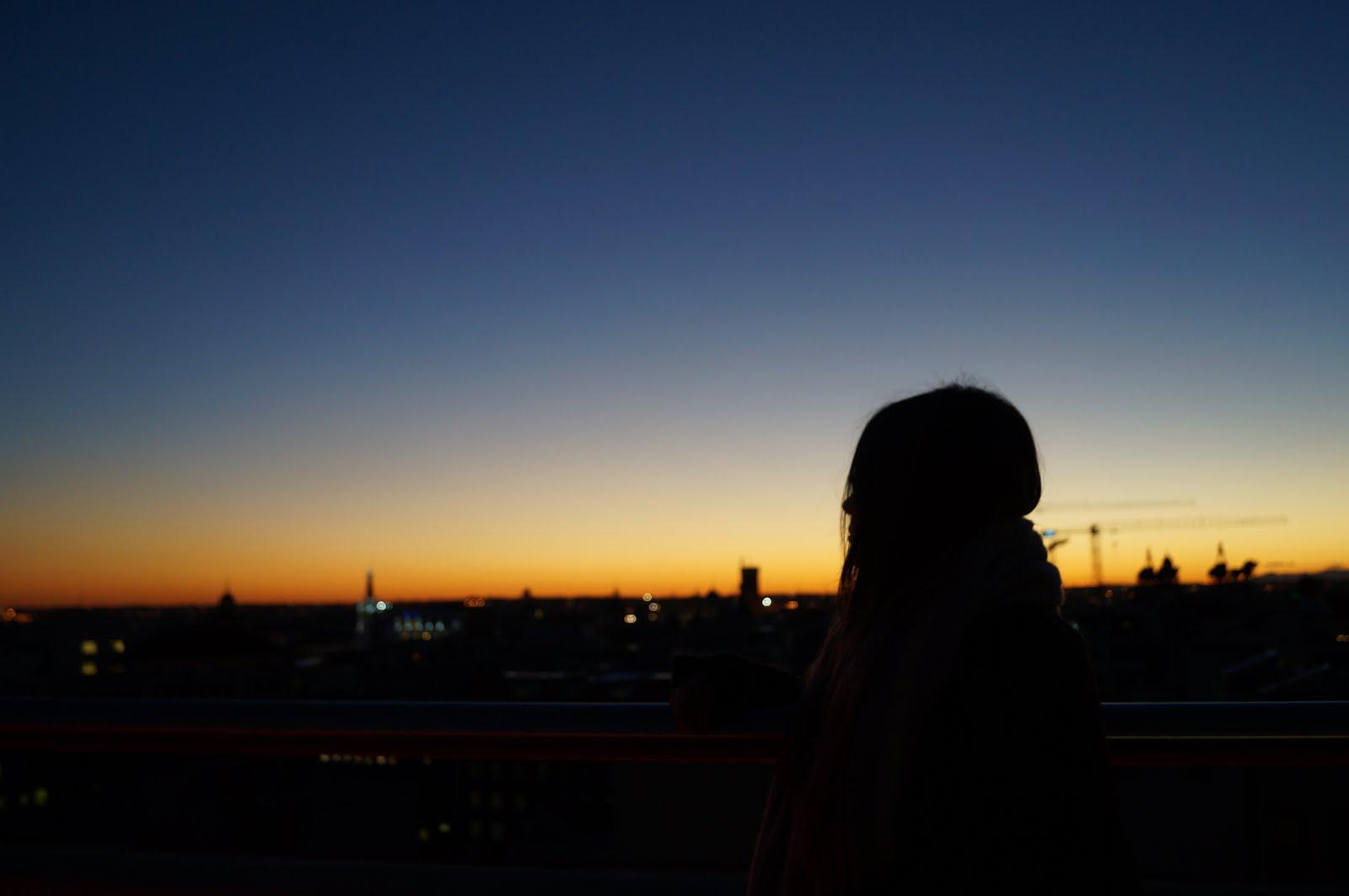 Puesta de sol - Madrid