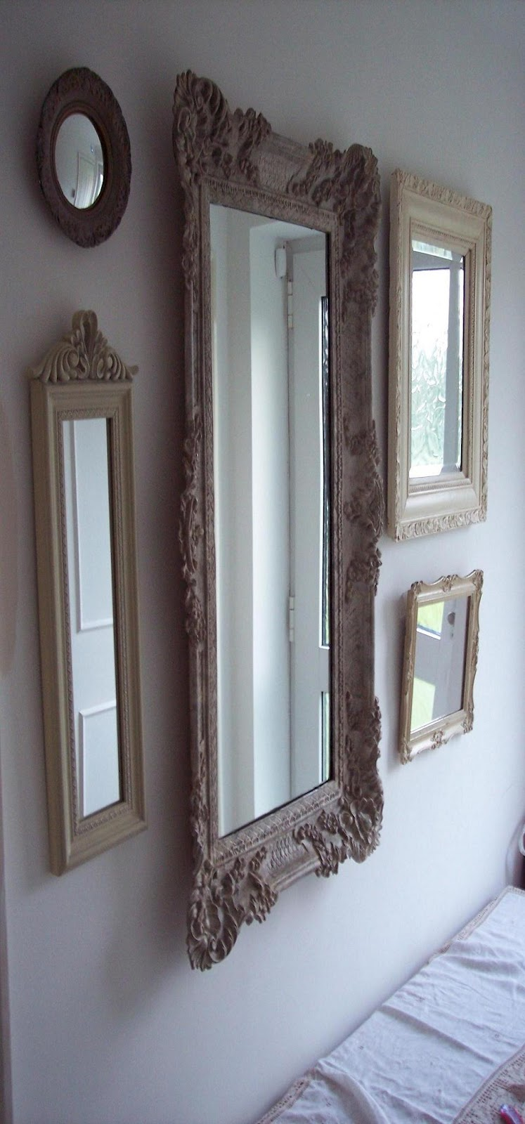 Paint and Style: Painted mirror frames