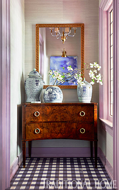 Traditional Foyer Jobs : Lisa mende design before and after traditional home