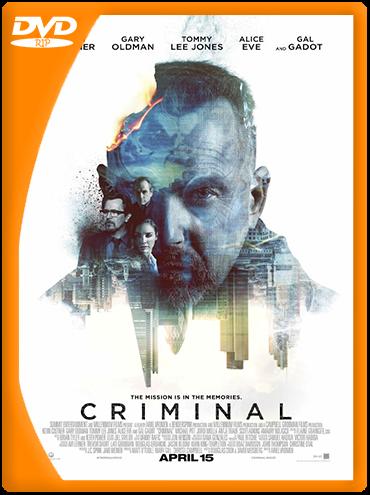 Criminal (2016) DVDRip Latino