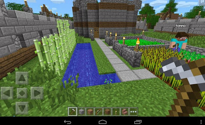 Update Minecraft Pocket Edition v0.12.1 Mod Apk No Damage