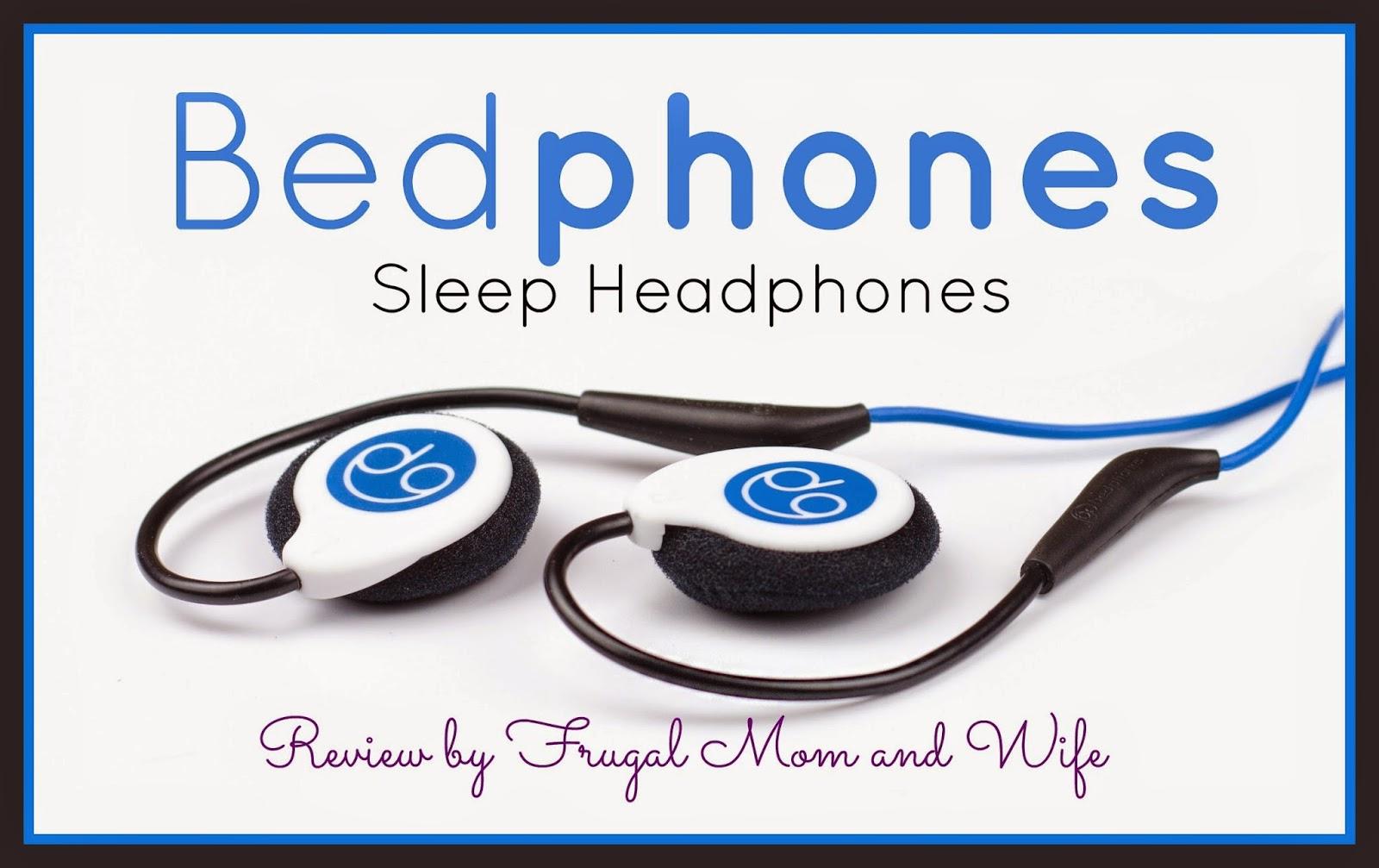 Frugal Mom And Wife Bedphones Sleep Headphones Review