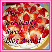 Blog Award from Sandra
