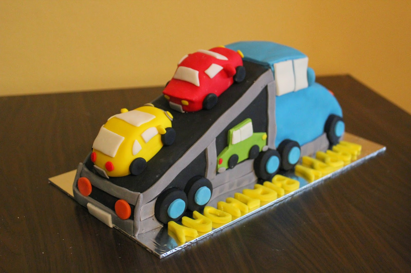 Construction Cakes Crissas Cake Corner