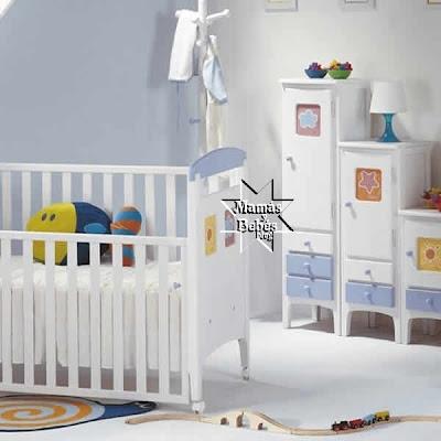 Algunas ideas para decorar el cuarto de tu bebe cuarto de - Decorar habitacion bebe nino ...
