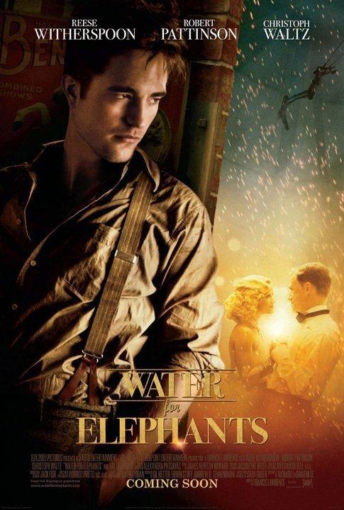 Robert Pattinson Water for Elephants poster