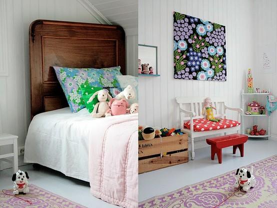 A deco inspiracion exterior dormitorios infantiles para - Dormitorios empapelados ...