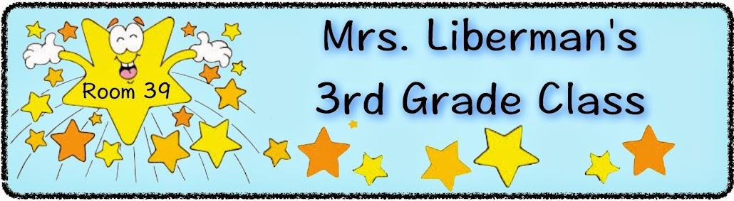 Mrs. Liberman's 3rd Grade Class