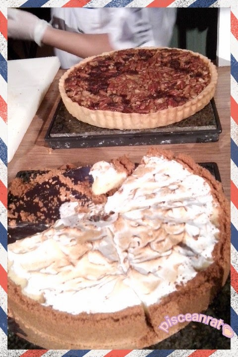 pecan pie and key lime pie, marriott hotel