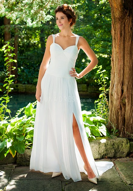 http://www.lunadress.co.uk/a-line-spaghetti-straps-chiffon-floor-length-court-train-wedding-dress-with-side-slit-g14752.html
