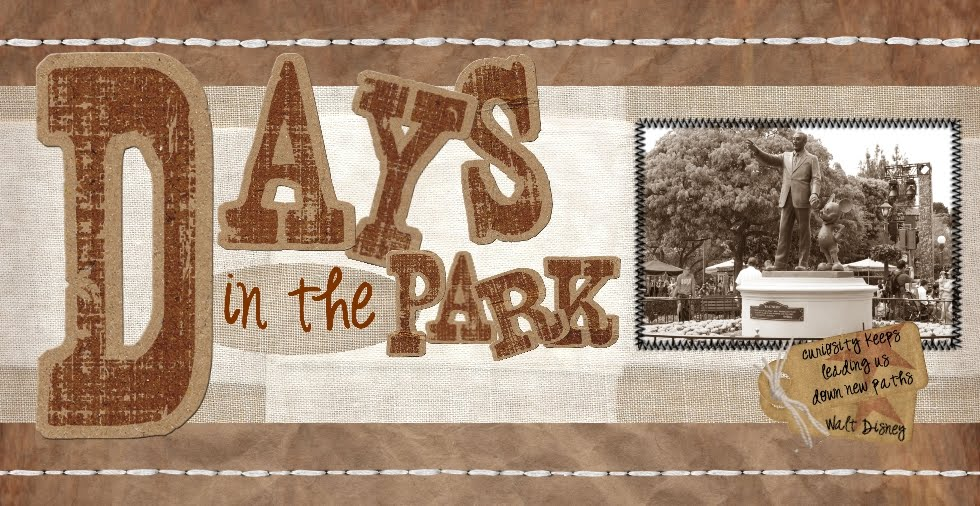 Days in the Park - A Fan Blog About Disney, Gaming, and Everything In-Between