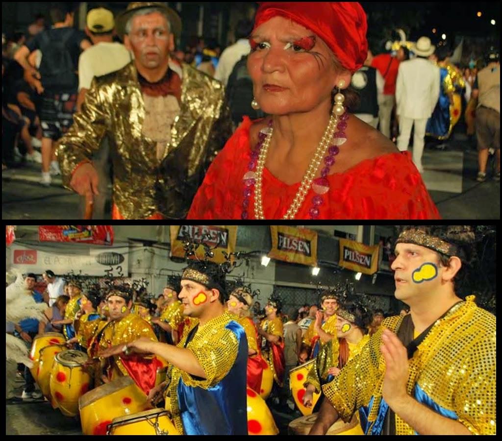 Desfile de Llamadas.Al Toque del Cardal.. Montevideo. 2011.