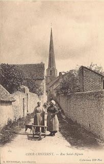 Cour-Cheverny - Église & abords
