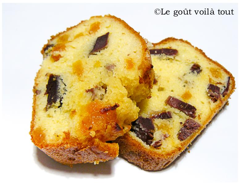 Cake aux gésiers et abricots secs