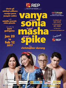 Repertory Philippines' 80th Season - Vanya and Sonia and Masha and Spike