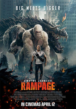 Poster Of Rampage 2018 Full Movie In Hindi Dubbed Download HD 100MB English Movie For Mobiles 3gp Mp4 HEVC Watch Online