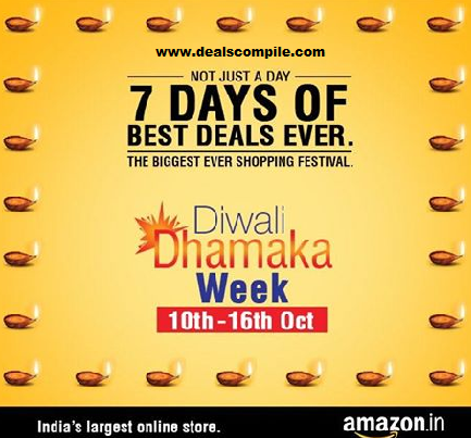 Amazon Diwali Dhamka Week - Best Week of the Year - 10th to 16th October