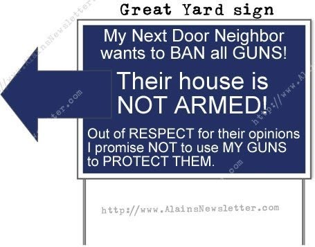 florida redneck great yard sign house not armed