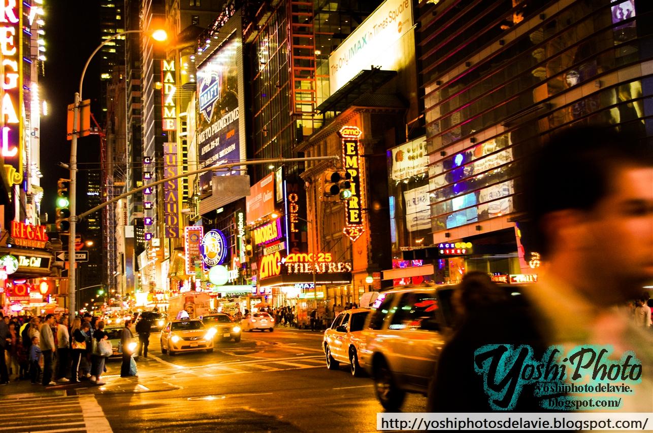 Yoshi Photos de la Vie: 42nd Street, New York City, New York