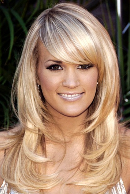 2014 Long Hairstyles with Bangs