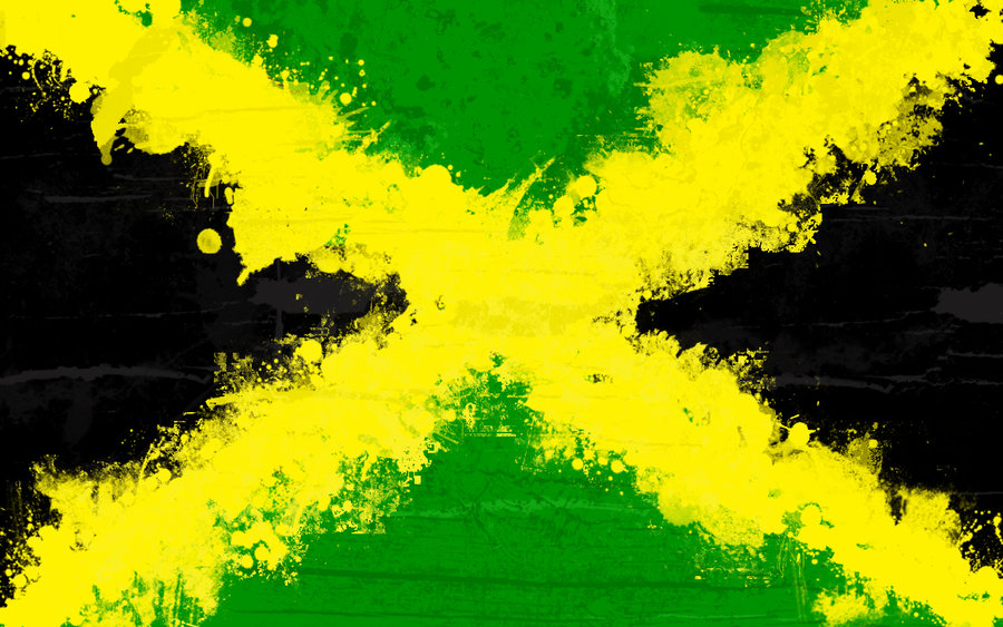 graafix wallpaper flag of jamaica