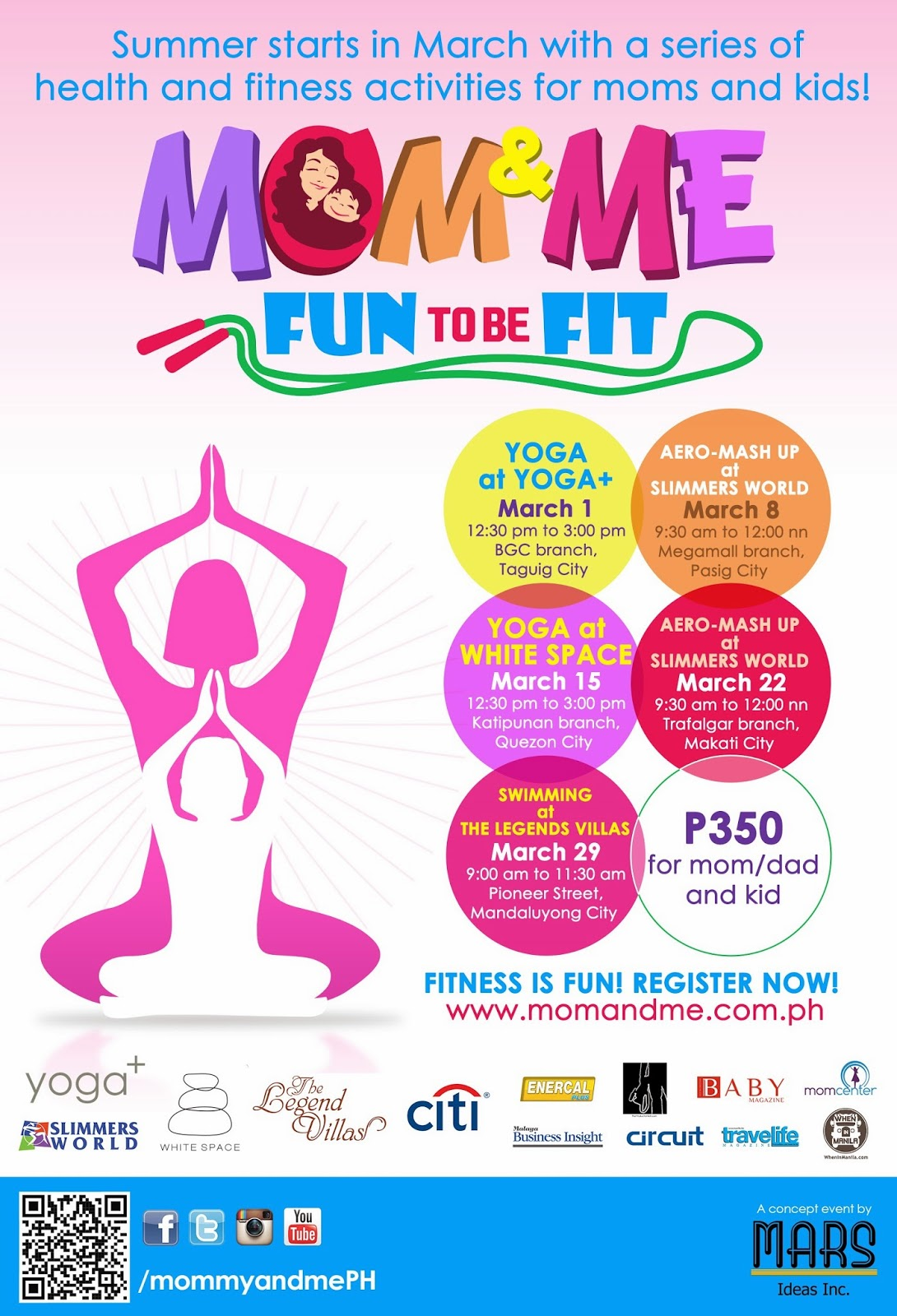 PRESS RELEASE: It's Fun To Be Fit with Mom and Me!