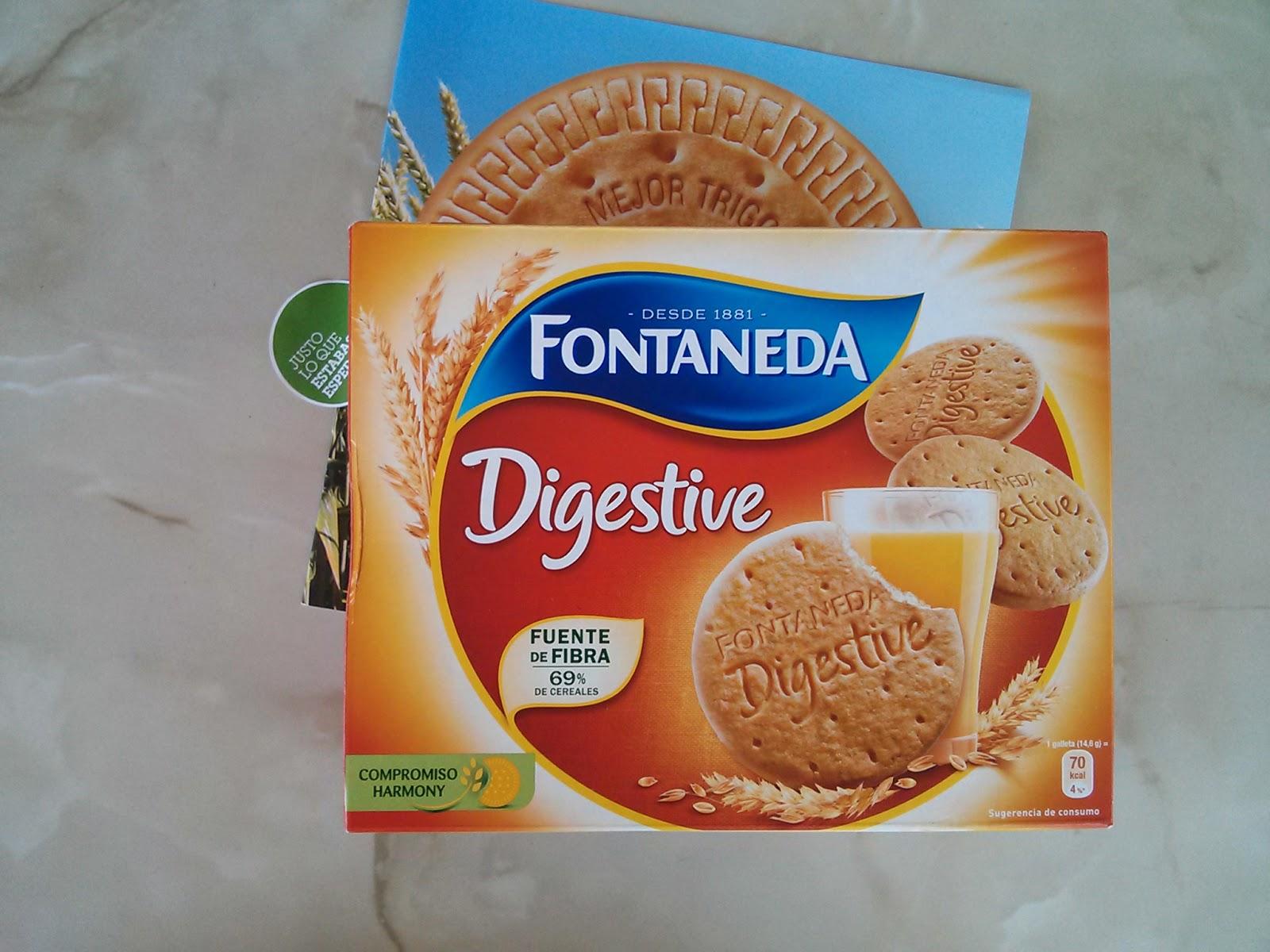 Galletas Digestive de Fontaneda