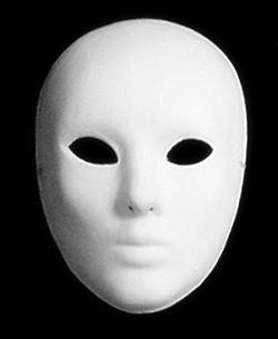 Una máscara cualquiera