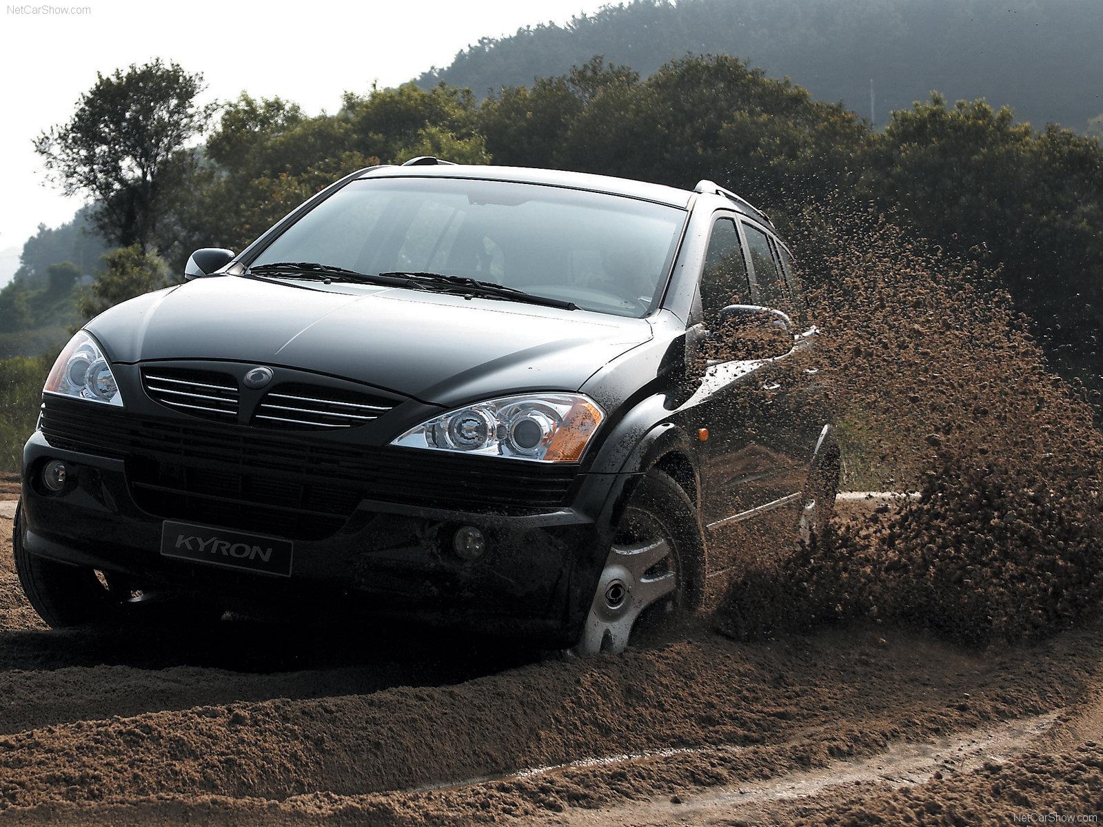 Hình ảnh xe ô tô SsangYong Kyron 2005 & nội ngoại thất
