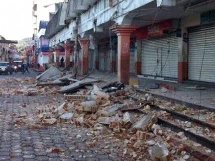 terremoto Guatemala y México