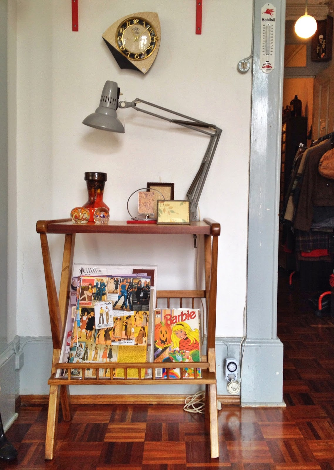 vintage, mobiliário, decoração