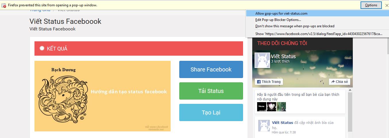 hướng dẫn viết stt facebook theo phong cách riêng
