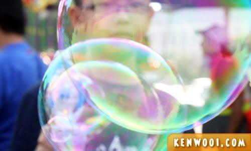bubble toy gun