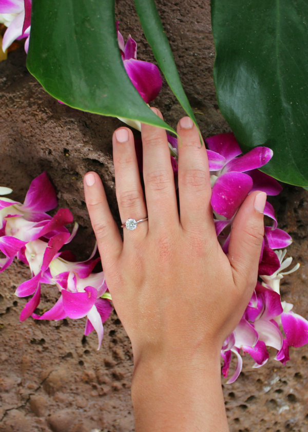 Our Hawaiian engagement story!