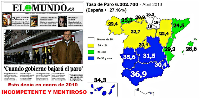 El paro llega a 6.202.700 personas batiendo rcord