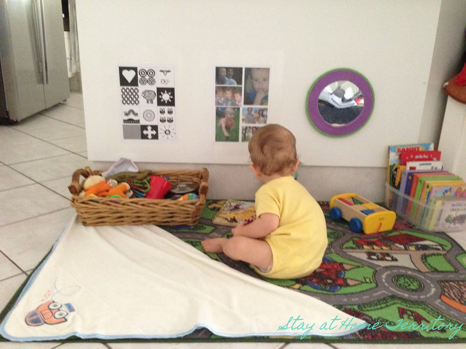 Baby Play Area Stay At Home Territory A Play Space For Baby