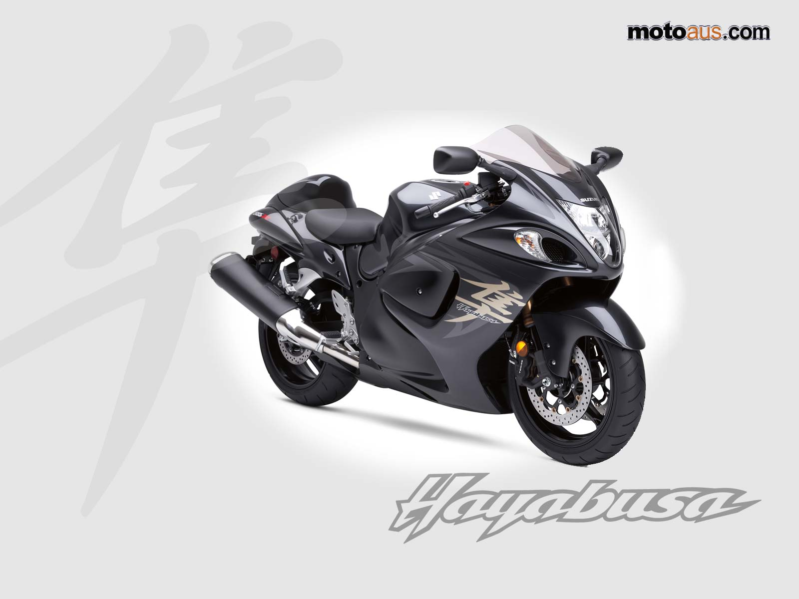 Super & Heavy Bikes: Suzuki Hayabusa Wallpapers