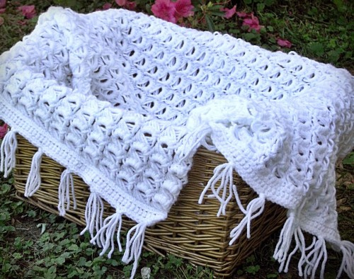 Sweet Lace Blanket - Free Pattern